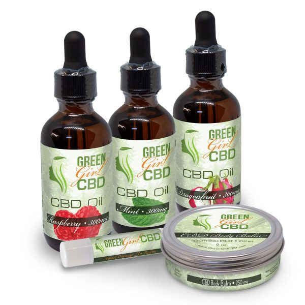 CBD Christmas Gift Box Set