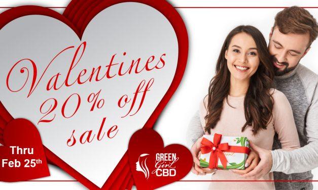 CBD February Sale • 20% Off CBD Site Wide Sale • Coupon Code