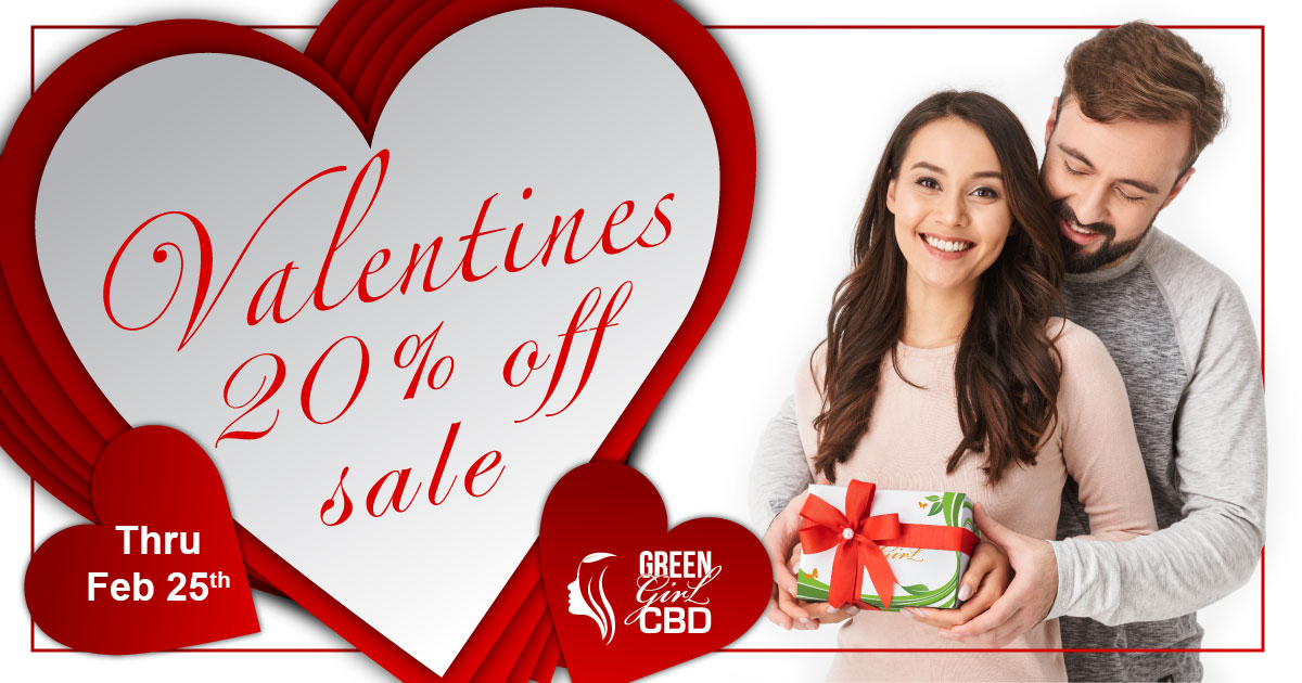 CBD February Sale • 20% Off CBD Site Wide Sale • Coupon Code