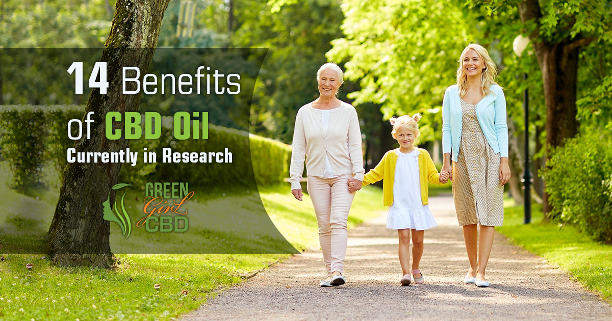 14 Benefits of CBD Oil Currently in Research