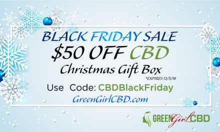 CBD Black Friday Coupon • $50 Off CBD Christmas Gift Box • Coupon Code